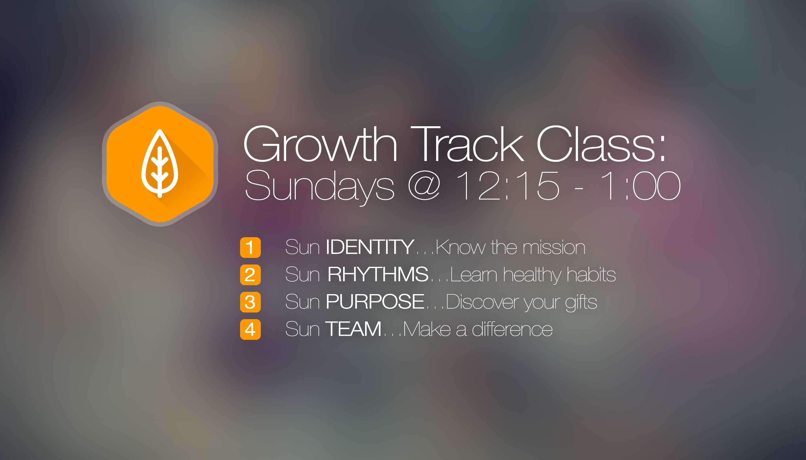Life Church Lisle, IL Growth Track Class Schedule